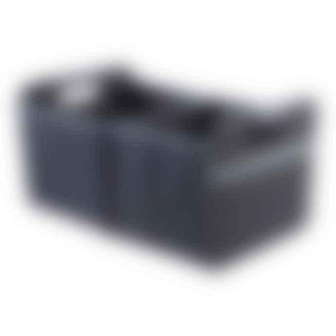 Meori Heavy Duty Premium Foldable Storage Carry Box Large Classic Black
