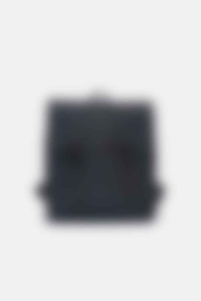 Rains Black Msn Messenger Bag