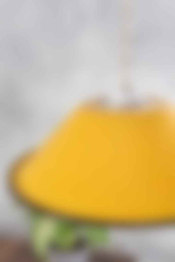 Ian Snow Yellow Small Enamel Lampshade