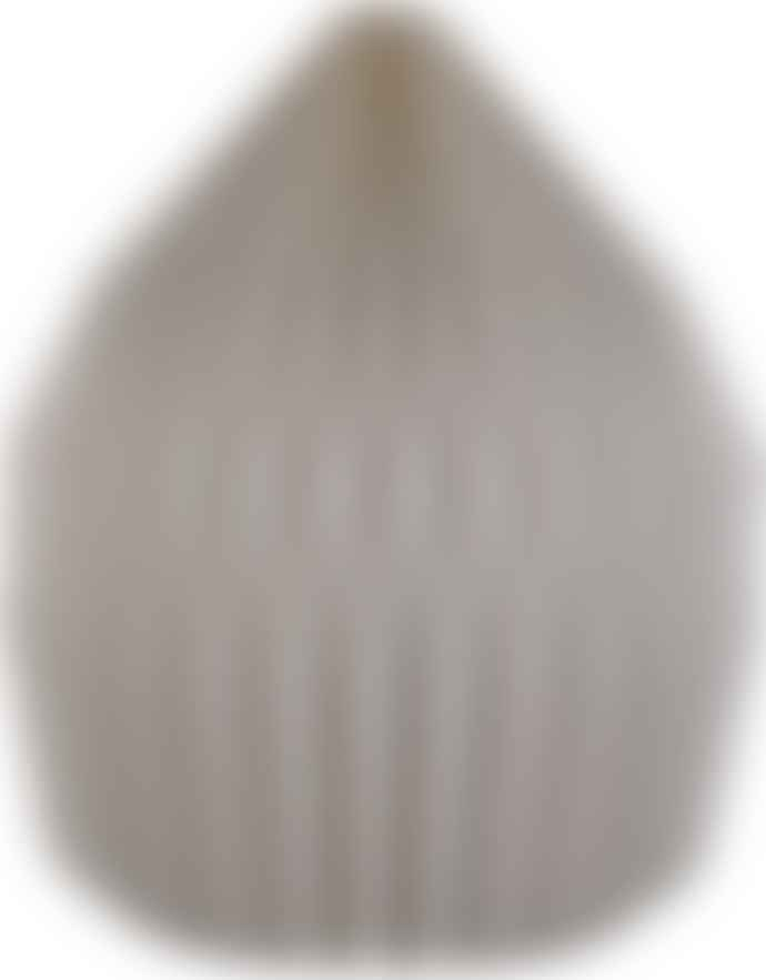 Ian Snow Dome Natural Pleated Paper Lampshade