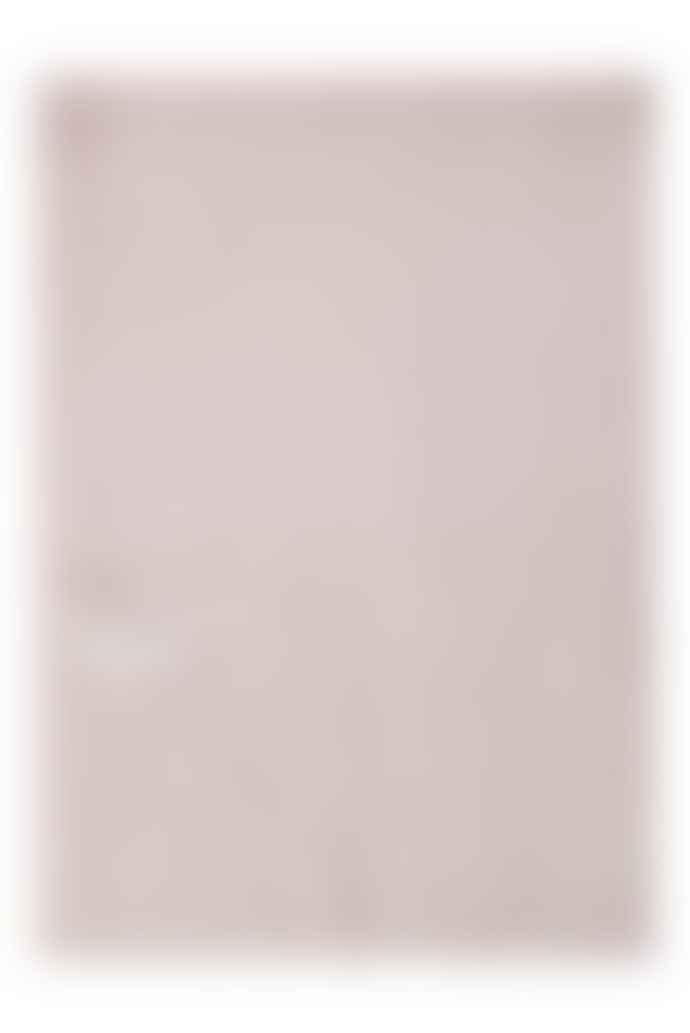 Duffy NY Pale Pink Melange Luxury Cashmere Travel Wrap