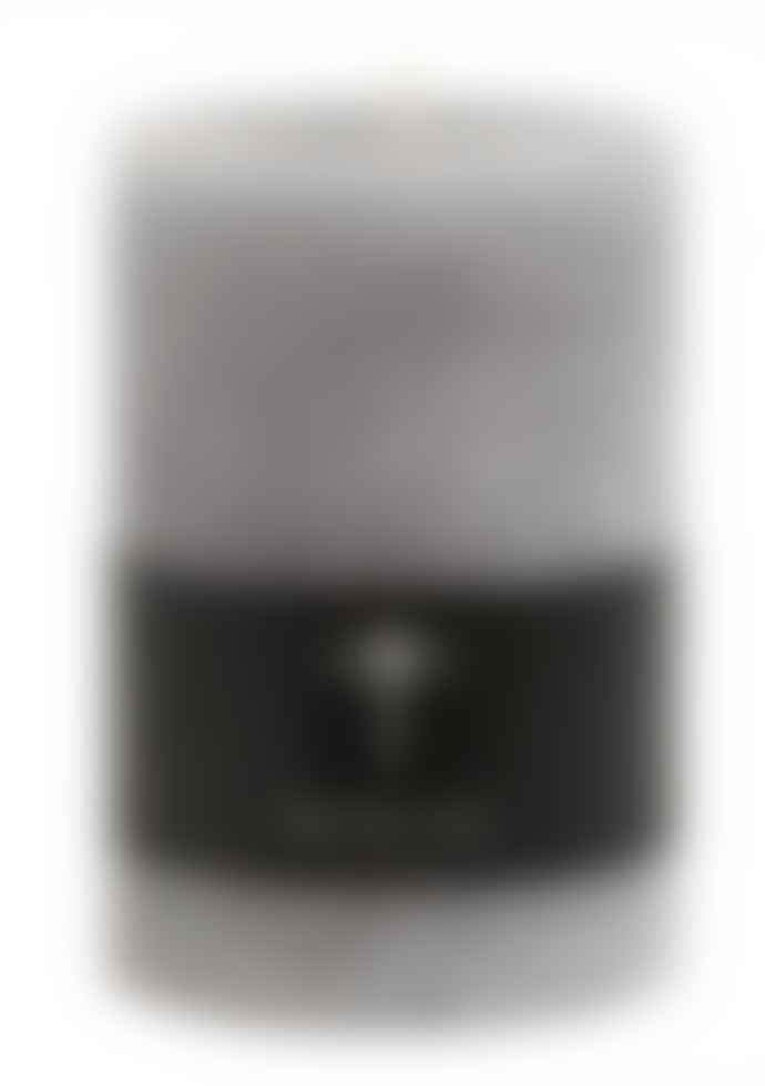 Nordal Small Pillar Candle With Textured Finish