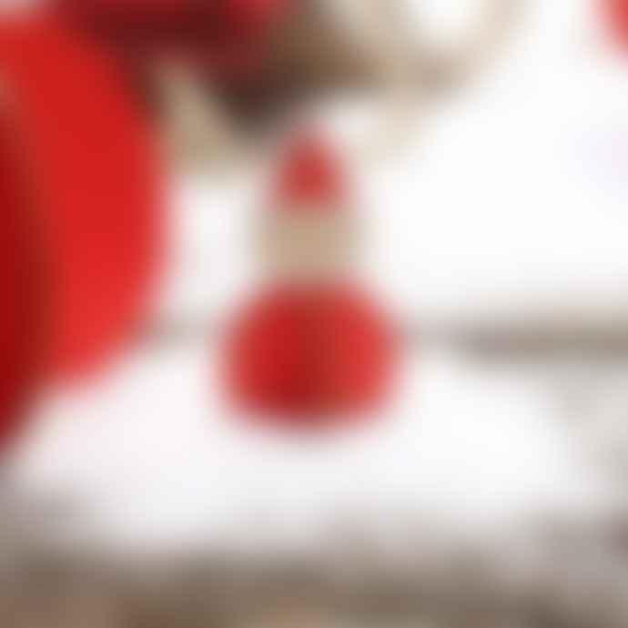 Design Ideas Nordic Santas Set Of 8