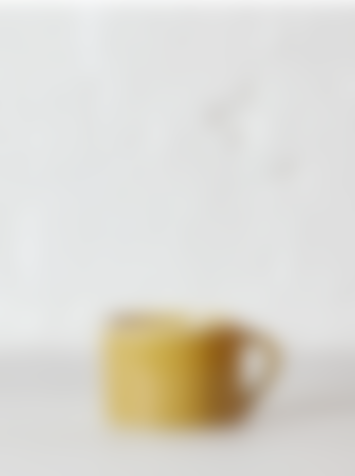 Nkuku Datia Hand Finished Mustard Ceramic Mug