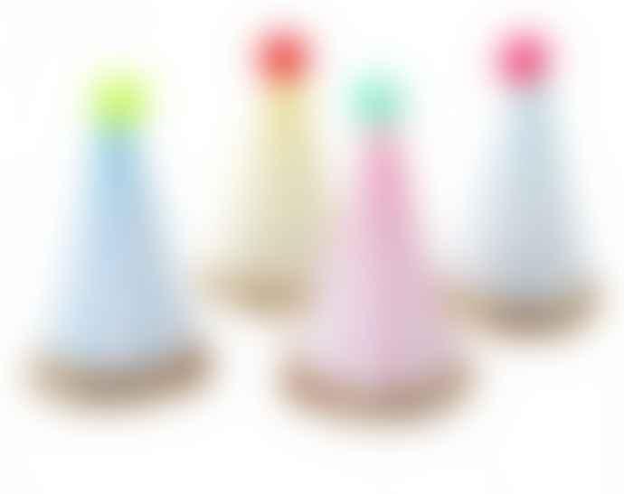 8 Pcs Stripes Party Hats