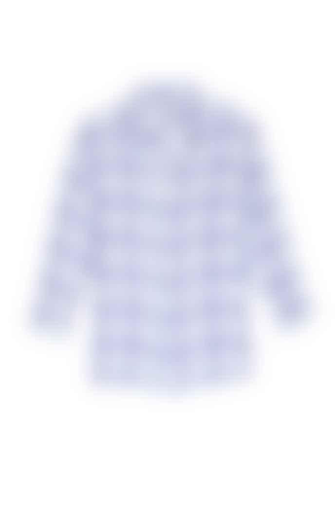 Rails White Sydney Raspberry Azure Shirt