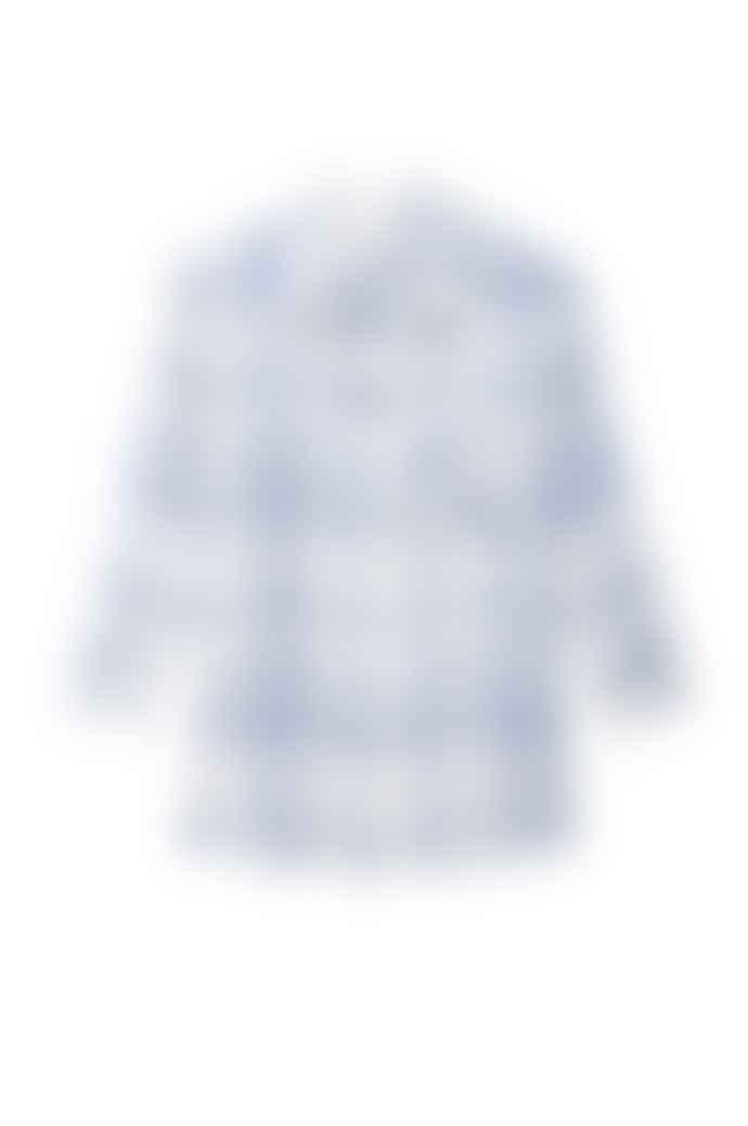 Rails True Blue White Charlie Shirt