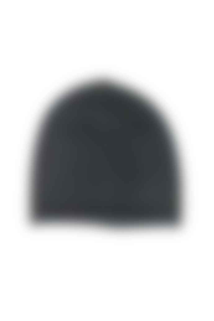 Somerville Scarves Black Cashmere Beanie Hat