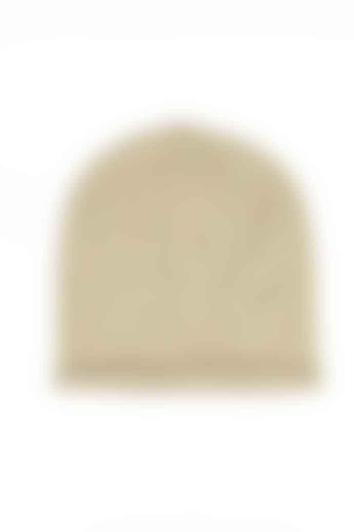 Somerville Scarves Camel Cashmere Beanie Hat