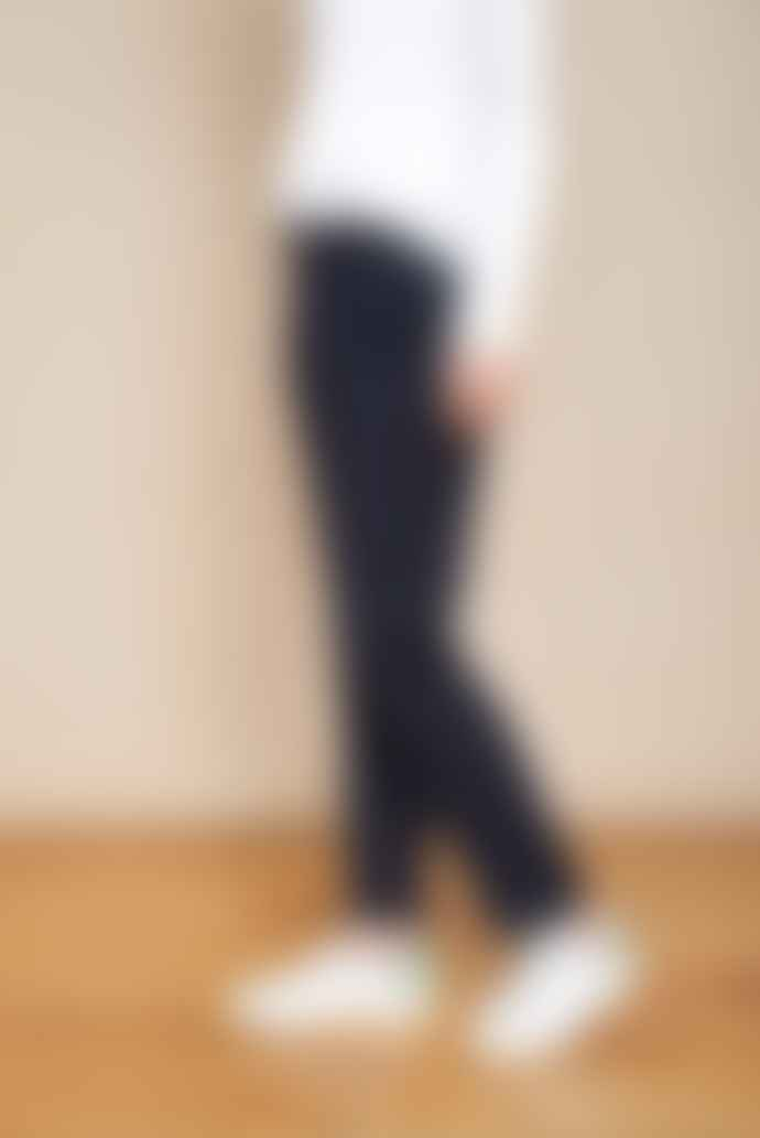 MKT Studio Navy White Studio Prato Stripe Pants