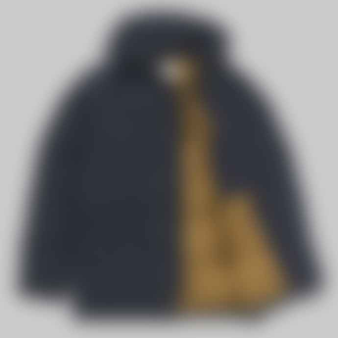 Carhartt Dark Navy Hamilton Brown Alpine Coat