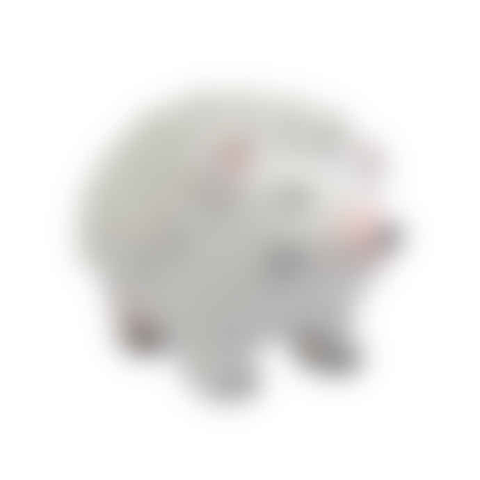 House of disaster Small White Hedgehog LED Lamp