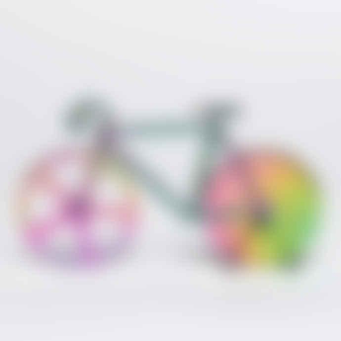 DOIY Design The Fixie Bike Iridescent Pizza Cutter