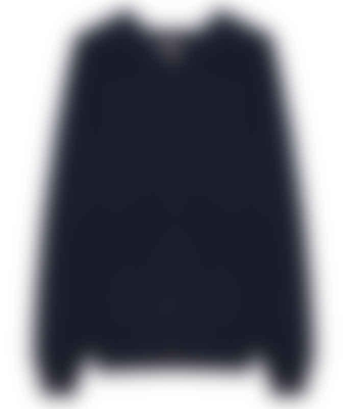 engage Navy Cashmere Hooded Jacket