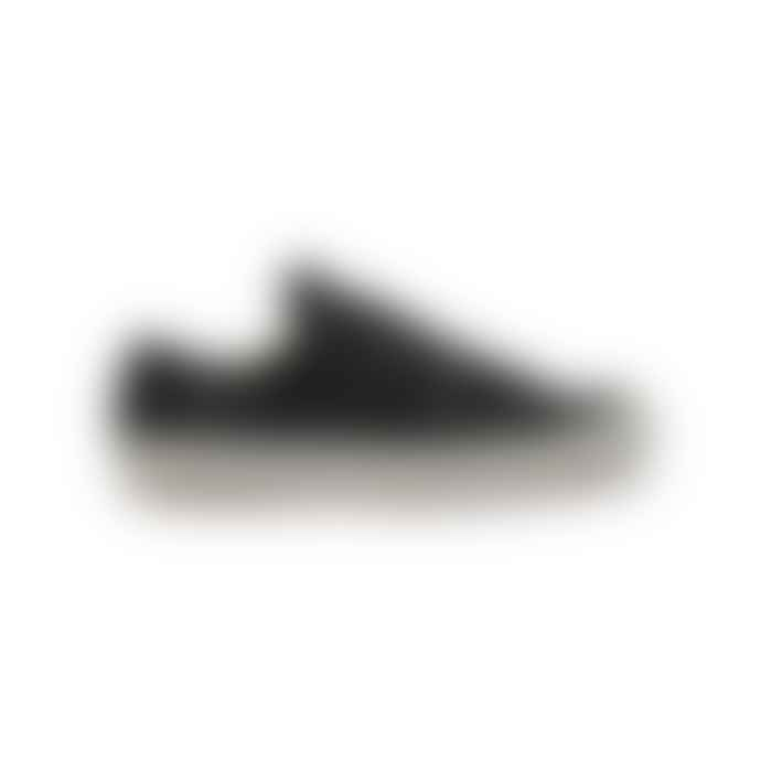 Po-Zu Black Butterfly Low Cut Sneakers