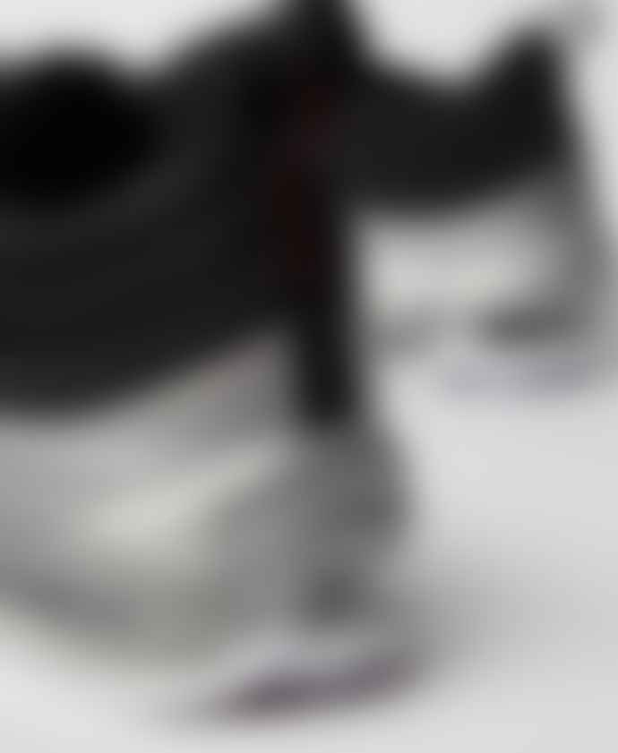 Nike Black Silver Air Max 97 B Sides Qs Trainers