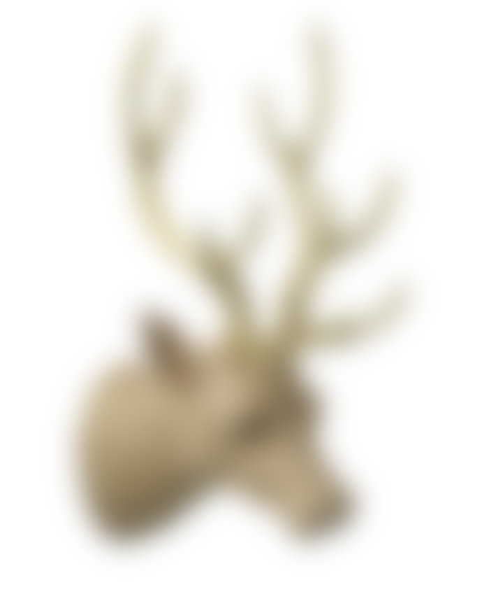 Parlane Hessian Wall Mounted Stag Head