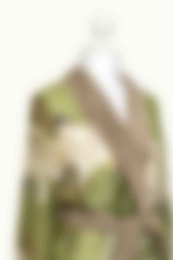 One Hundred Stars Green Stork Gown