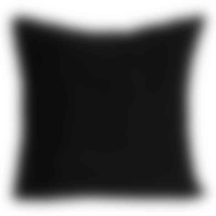 Black & Gold Sequin Reversible Square Cushion