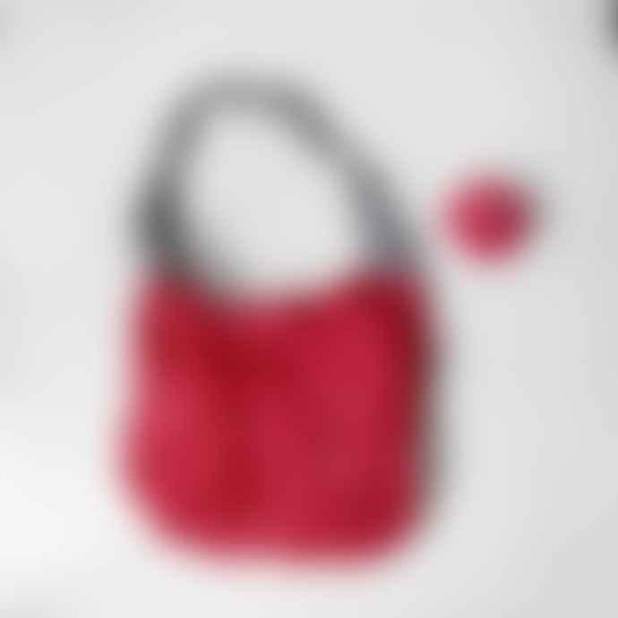 Flip & Tumble Red Reusable Shopping Bag