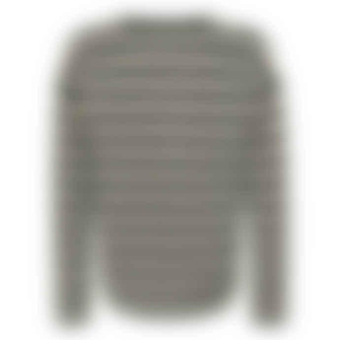 SUNCOO Black And White Striped Pelita Jersey