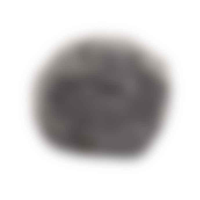 Homewood & Rose Grey Sheepskin Pouffe Foot Stool