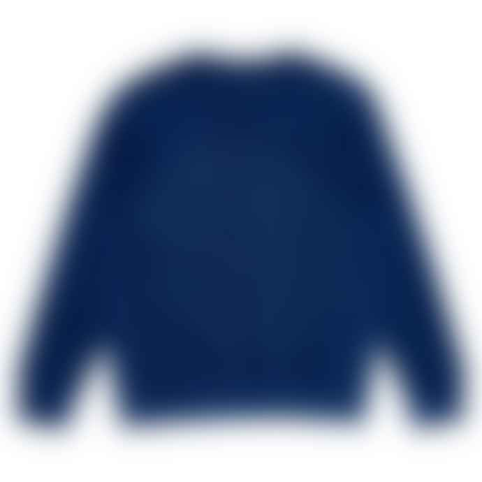 Arnold & Co Indigo Forge Denim Ribbed Sweatshirt