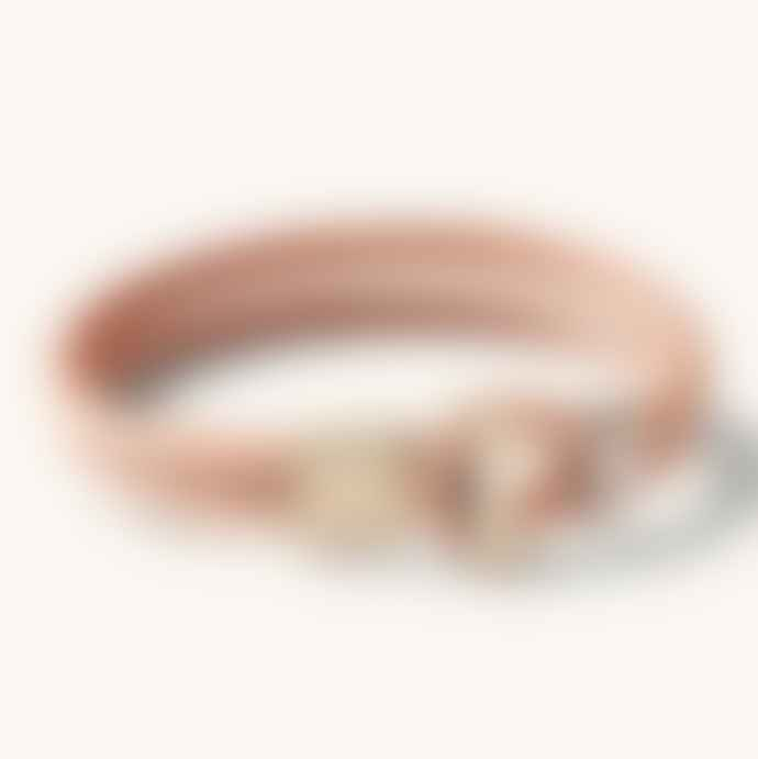 Arnold & Co Natural Brass Tanner Goods Wristband