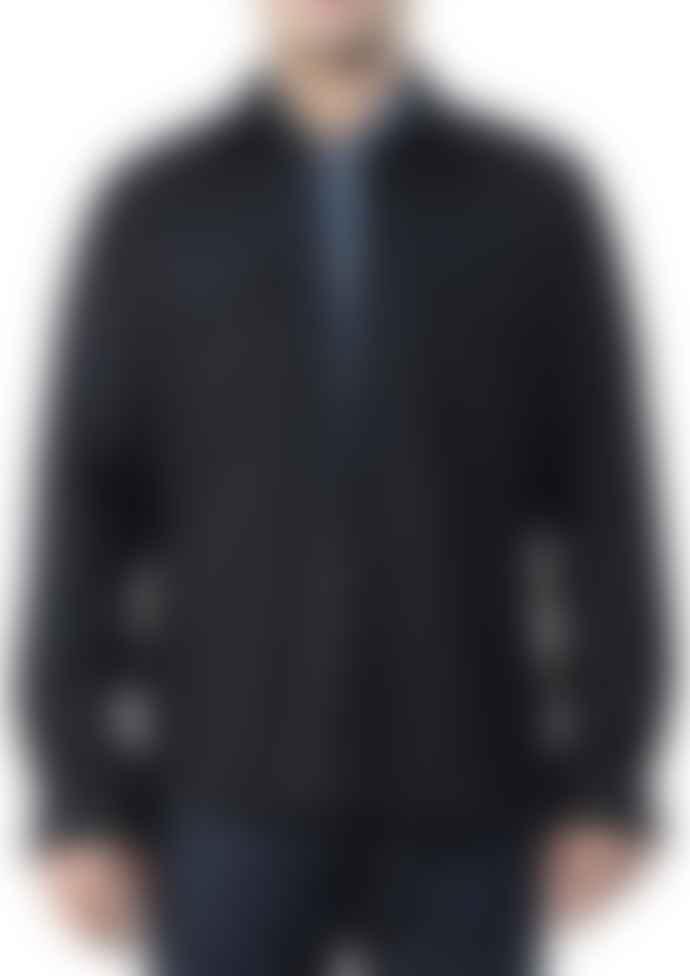 Arnold & Co Navy Wool Captain Santors 8804 Shirt
