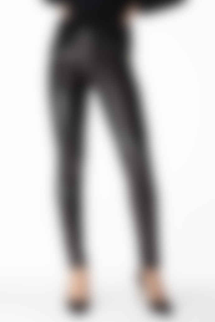 J Brand Maria High Rise Super Skinny Jeans in Galactic Black