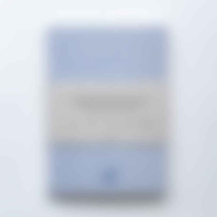 Ola Medium Light Blue Alma Pattern Notebook