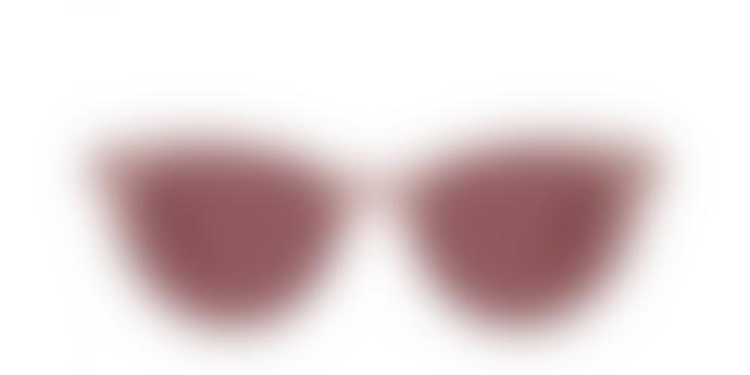 Fora Milky Pink Matte Harper Sunglasses