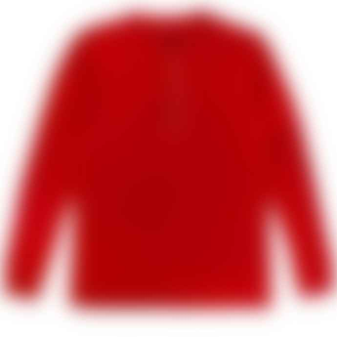 Archie Foal Chilli Red Gael Henley Top