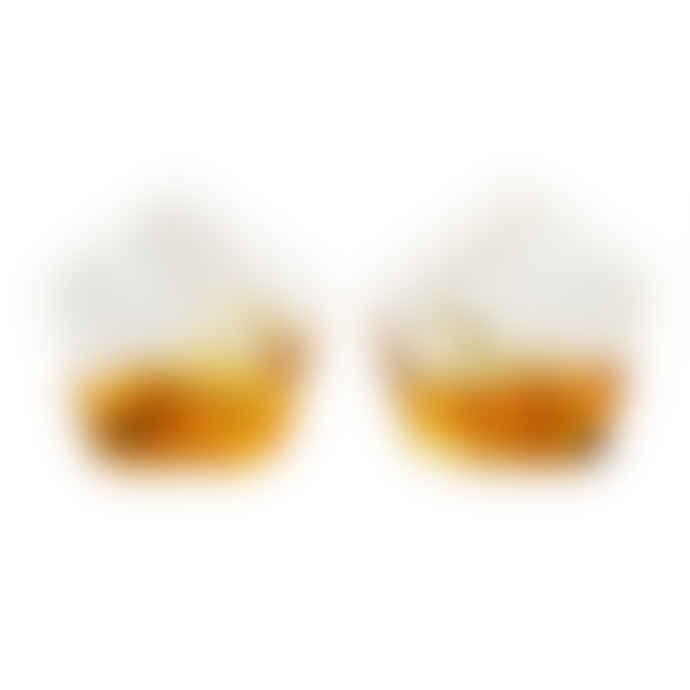 Wild & Wolf  Set Of 2 Rocking Whisky Glasses