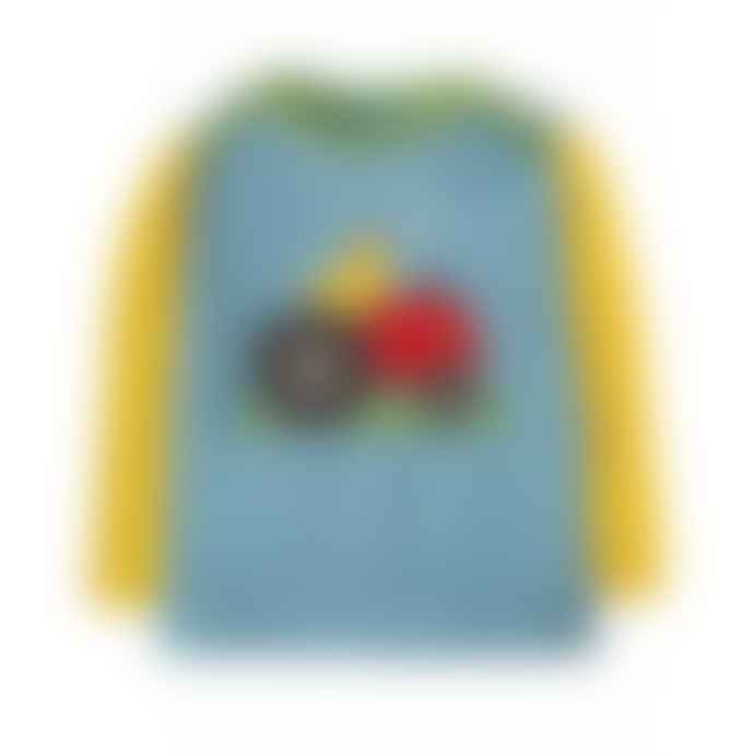 Frugi River Blue Tractor 18 To 24 Months Piper Envelope Top