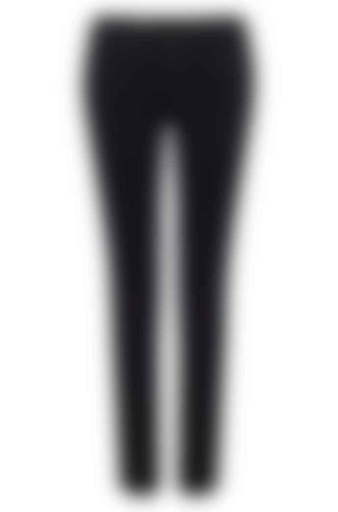 AG Jeans Prima Black Sateen Cigarette