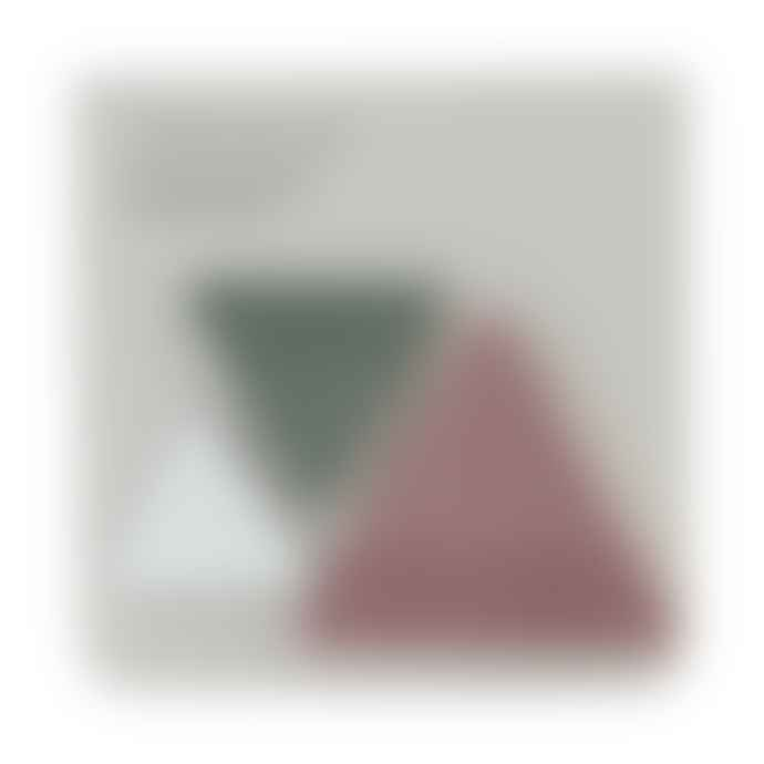 Monograph Triangle Shape Creative Sticky Notes