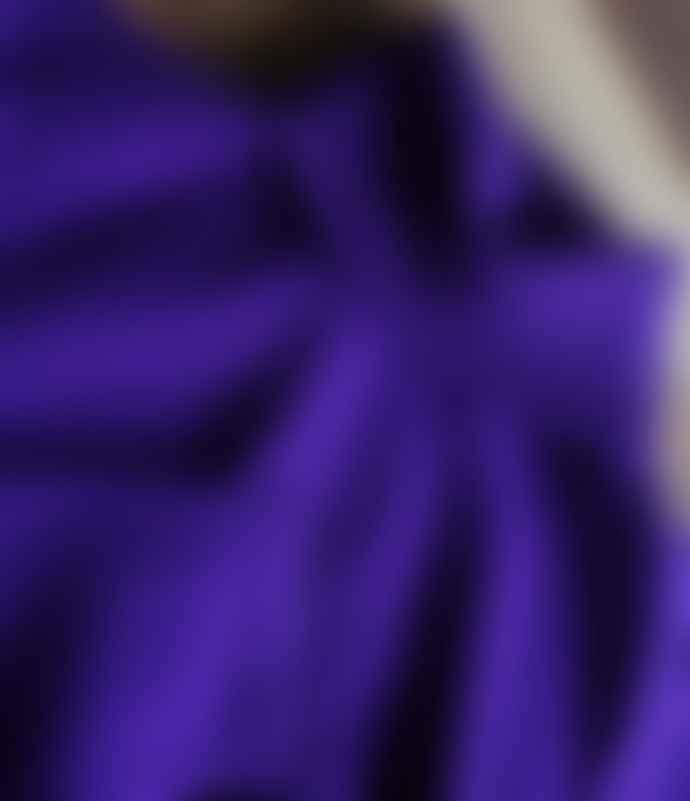 10per3 Purple Cashmere Turtleneck Sweater