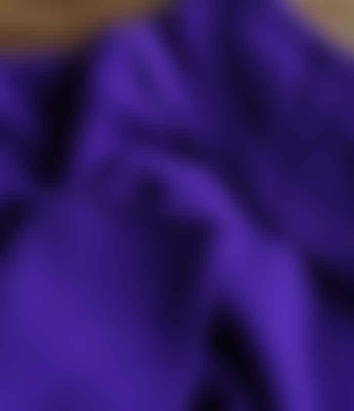 10per3 Wide Purple Cashmere Turtleneck Sweater