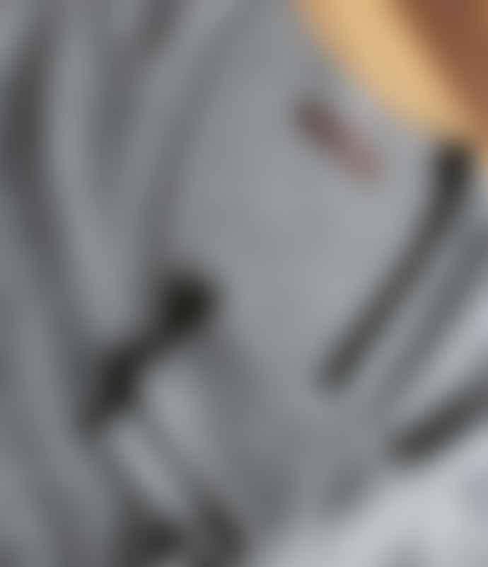 10per3 Grey Melange Cashmere Cardigan