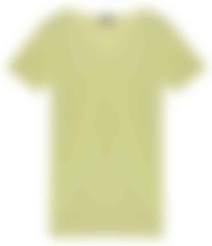 engage Cashmere Short Sleeve Citron Sweater