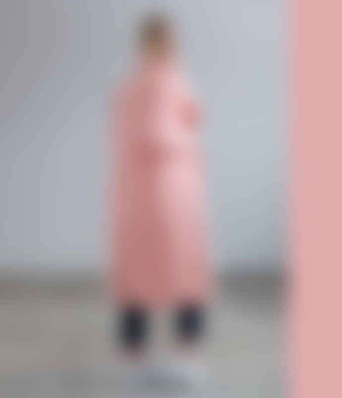 Scandinavian Edition Pink Trenchcoat