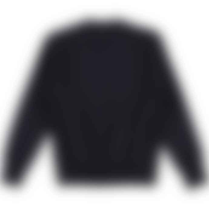 Champion Navy Reverse Weave Crew Sweatshirt