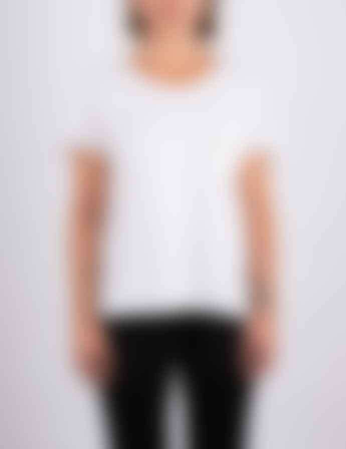 +351 Essencial Woman Off White T-Shirt