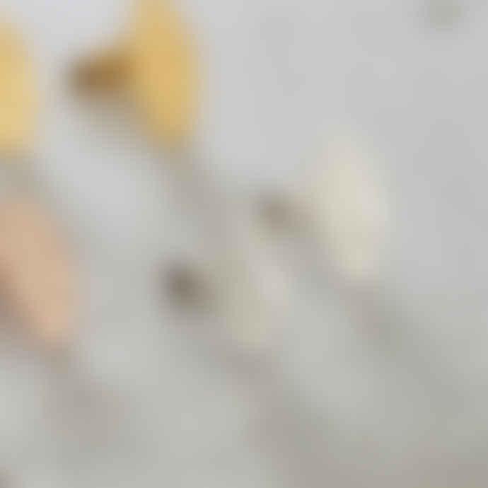 Posh Totty Designs Sterling Silver Hamsa Hand Stud Earrings