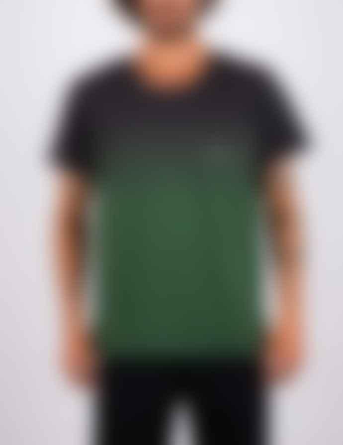 +351 Gradient Rain Forest Green  & Charcoal T-Shirt