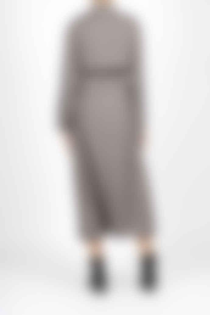 Jovonna London Grey Nadia Pinstripe Trench Coat