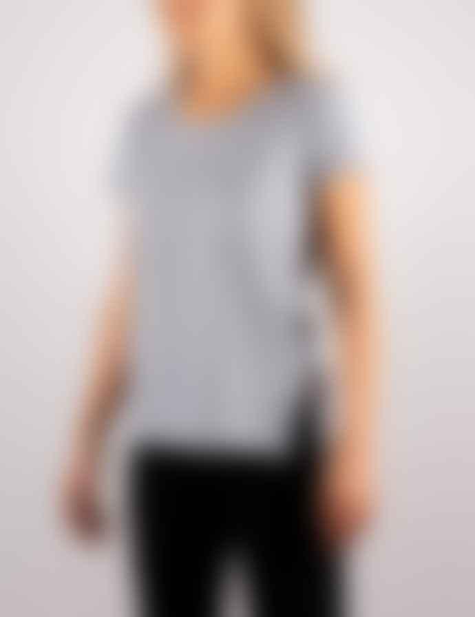 +351 Essencial Woman Cinza Mescla & Gold  T-Shirt