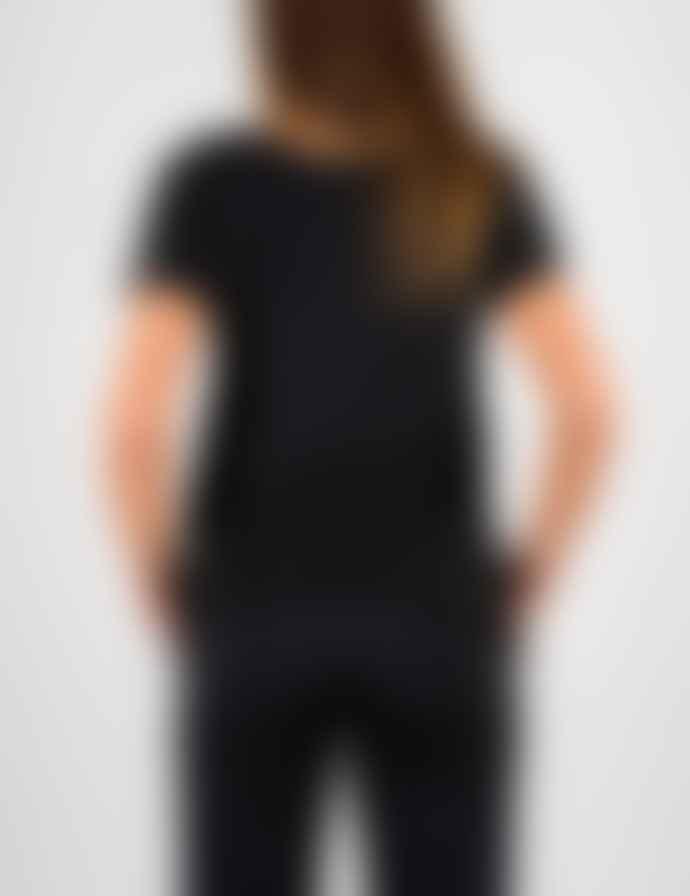+351 Essencial Woman Black & Gold  T-Shirt