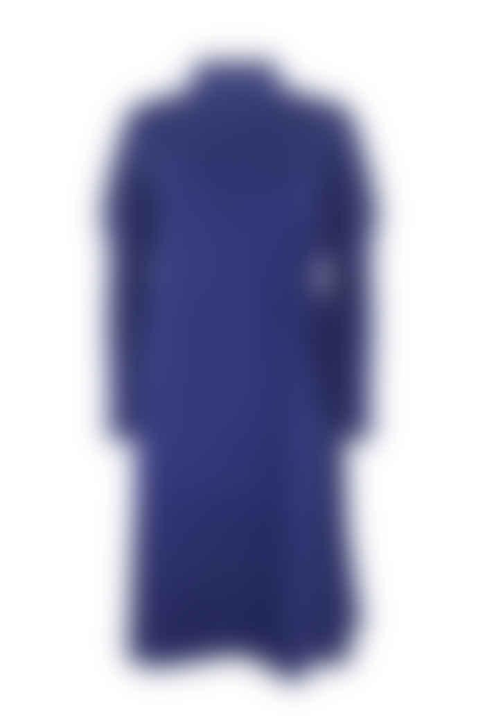 Jovonna London Blue Doncaster Cinched Jumper Dress
